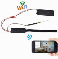 Wholesale diy wireless monitor resale online - 32GB HD P Mini Pocket DV DIY Module IP Network Camera Wifi Camera Cam Remote Monitor Nanny Cam Video Recorder Security DVR