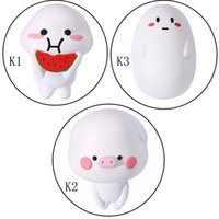 Wholesale different styles dolls resale online - Kawaii Jumbo Squishy Watermelon Cartoon Doll Piggies Different Styles Squishies Squeeze Toys CPC Quality Inspection Safety Certification