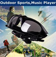 auriculares de anteojos al por mayor-Gafas inteligentes Bluetooth V4.1 Sunglass 7 colores Sun Glass Deportes Auriculares Reproductor de MP3 Bluetooth Teléfono Auriculares inalámbricos Bluetooth Gafas