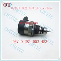 regulador de combustível de alta pressão venda por atacado-DRV 0 281 002 483 Válvula de sistema de alta pressão Regulador drv medindo VÁLVULA DE BOMBA DE COMBUSTÍVEL 0281002483
