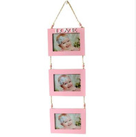 photos de nouveau-nés achat en gros de-DIY Home Wall Display Enfants Photo Photo Nouveau-Né Bébé Commémorative Cadre Photo Kid Picture Frame Love Enfants Meilleurs Cadeaux