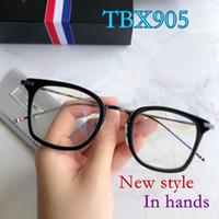 97a6e3c2671 Vintage Retro Thom TBX905 eyeglasses Import acetate frame square women man brand  design original box case prescription Lens free shipping