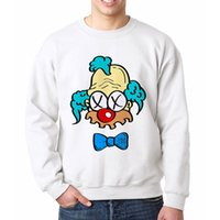Wholesale anime tracksuit - High Quality Anime Crewneck Sweatshirts Rip Krusty Streetwear Pullovers Casual Design Tracksuit Mens Funny Sweatsuits For Men