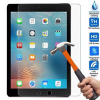 ipad mini bildschirm klarer film großhandel-Für iPad Pro Air 9H Premium klarer, explosionsgeschützter Displayschutz für iPad mini gehärtetes Glas für iPad mini 2 mini 4 Schutzfolie
