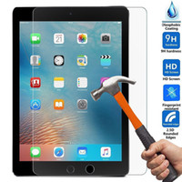 Wholesale ipad clear protector - For iPad Pro Air 9H Premium Clear Explosion-proof Front Screen Protector for iPad mini Tempered Glass for iPad mini 2 mini 4 Protective Film