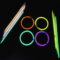 Wholesale wand novelty toy resale online - 200mm party sticks Glow Stick Bracelet Necklaces Neon Party LED Flashing Light Sticks Wand Novelty Toy LED Vocal Concert LED Flash Sticks