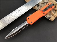 Wholesale best knives for hunting online - 2018 Best Survival Gear Camping Equipment Hand Tools C Steel D A Tactical Knife Orange Edc Gift For Lady Girls G2S