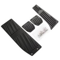 bmw pedalları toptan satış-Sıcak Ürünler Araba Aksesuarı Alüminyum Alaşım MT Ayak Pedallar BMW X1 E30 E36 E39 E46 E87 E90 E91 E92 E93 E93 M3 Araba-Styling