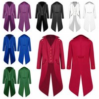 Wholesale l x l clothing online - Men s Tuxedo Formal Dress Swallow tailed Coat Classic Cloak Gentleman Blazers Clothing Party Banquet Costume Colors NNA728