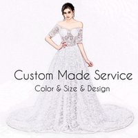 Wholesale Multi Color Pictures - Specil Link For The Custom Made Service Color Size Design Prom Evening Dresses Formal Party Gowns