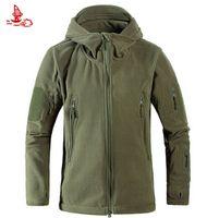 Discount polar fleece jackets men - 2017 New Outdoor Micro Polar Fleece Jackets Thermal Trekking Coat Hiking Camping Hunting Fishing Heated Travel Clothes Men &Women