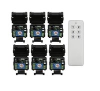 ingrosso ricevitore mini rf-Universale DC 24 v 1 canale mini RF senza fili Telecomando interruttore della luce 10A trasmettitore ricevitore 100M 433 mhz