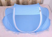 Wholesale baby net sleep for sale - Group buy Baby Crib Years Baby Bedding Mosquito Net Portable Foldable Baby Bed Crib Mosquito Netting Cotton Sleep Travel Bed Set