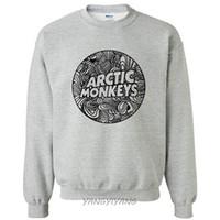 monos de roca al por mayor-Arctic Monkeys Rock Music Band sudaderas hip hop estilo sudadera nueva negro sudaderas regalo de navidad envío de la gota