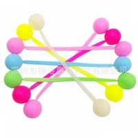 Wholesale plastic toy yoyo - Colourful Silicone Fingertip Yoyo Stress Reliever Toy Finger Yo Yo Decompression Toys Novelty Children Gift 4 2zg C