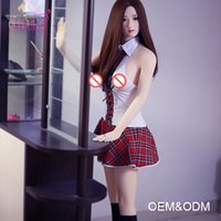 Wholesale Japanese Girl Big Breast - European Sex Doll 158cm Real Touch Feeling Silicone Big Breast Hot Selling European Girl Sex Doll For Men