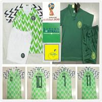 Kids Soccer Jersey STARBOY MIKEL SHEHU MUSA IHEANACHO IWOBI Blank Custom  Home Men Women Youth 2018 World Cup Football Shirt Kit 31a6ef2fc