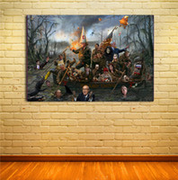 Wholesale The Swamp Thing artwork print on canvas modern high quality wall painting for home decor unframed pictures