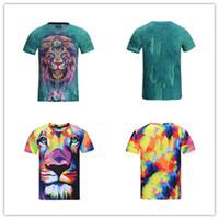 6c5127f192c Discount wholesale man hip hop clothing - 3D T Shirts Men Funny T Shirts  Hip Hop