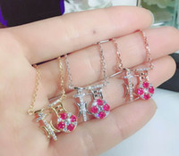 Wholesale Chinese Luck - Chinese Pendant Luck Shinning Short Necklace All Matching Style Yung Lady Party Wedding Graceful