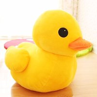 Wholesale toys companies resale online - big yellow duck doll simulation duck plush toy company
