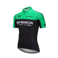 bicicleta esporte orbea venda por atacado-2017 orbea pro equipe dos homens de ciclismo jersey mountain bike roupas quick dry camisa de manga curta bicicleta sports wear roupas de ciclismo