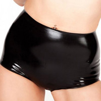 XS-XXL sexy Women handmade Latex shorts Underwear Rubber Panties customize size color Fetish costume Free Shipping