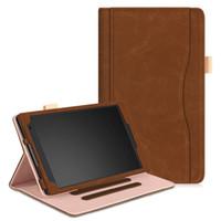 renkli tabletler toptan satış-Lenovo TB-8804F Tab4 8 için renkli PU Deri kılıf tablet kılıfı artı TB-8704F / TB-8704N / TB-8704V standı kapağı + Stylus Kalem + Film.