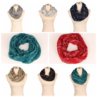Wholesale infinity scarf for sale - 8 colors Musical Notes winter Infinity Scarf Women music shawls and scarves foulard bufandas mujer echarpes foulards female MMA456