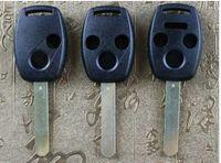 yamaha entfernt großhandel-Für Honda Fernbedienung Schlüsseloberteil 2 Knopf / 3 Knopf / 4 Knopf Ersatz Für Übereinstimmung CRV bürgerliche Modelle gerade Schlüsseloberteil