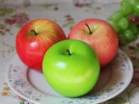 ingrosso mele verdi artificiali-8.5cm Artificiale Grande mela verde Frutta Simulazione verde Apple home decor festa di nozze Decorazioni forniture a buon mercato all'ingrosso 200pcs SN1399