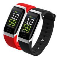 bracelet en bracelet bracelet achat en gros de-Charge USB Bracelet Intelligent Bracelet R7 Étanche IP67 Sommeil Fréquence Cardiaque Fitness Tracker Smart Bank Bracelet Tensiomètre pour iP Ss