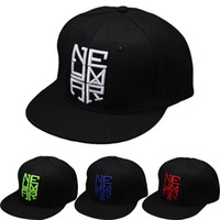 Wholesale brazil caps resale online - 4 Colors Neymar JR njr Brazil Brasil Baseball Caps hip hop Sports Snapback cap hat chapeu de sol bone masculino Men Women