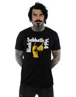 camisas casuais pretas para meninos venda por atacado-Vol. Dos Homens do Sábado Negro 4 T-shirt Nova Chegada do Sexo Masculino T-shirt Ocasional Do Menino T Topos Descontos Engraçados Tees Homens Curto