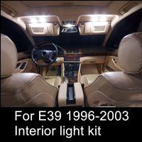 bmw e39 kit оптовых-Shinman 18шт бесплатная доставка безошибочную LED внутреннее освещение набор для BMW 5 серии E39 525i 528i 530i 540i М5 аксессуары 1996-2003