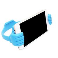 pulgares de iphone al por mayor-Soporte para teléfono para coche, teléfono móvil, soporte para teléfono móvil, escritorio, escritorio para iPhone X