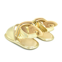 Wholesale Baby Step Shoes - 2018 Summer Style 0 to 1 Year Old Soft Comfortable Wings Baby Step Sandals Baby Shoes