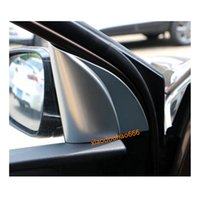 For Kia kx5 Sportage 2016 2017 2018 car body style cover ABS chrome inner front head A column lamp frame triangle moulding trim