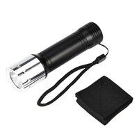 kleinste led t6 taschenlampe großhandel-T6 LED Kleine Aluminium Taschenlampe Einstellbare Fokus Zoom Licht Lampe Outdoor Sport Fahrrad Licht Camping wandern Licht P #