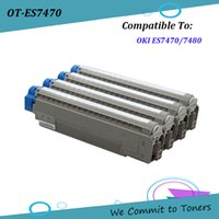 Wholesale toner cartridge pages online - OKI ES7470 Compatible Toner Cartridge for OKI ES7470 ES7480 OKI BK C M Y pages