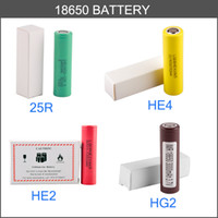 дешевые королевские синие пkers for windows оптовых-Оригинальный аккумулятор 18650 LG HG2 3000 мАч HE4 HE2 2500 мАч Макс 35A High Drain INR18650 25R литиевая батарея подходят иностранные 220 Вт