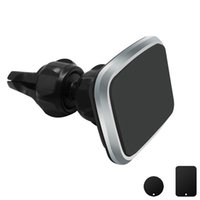 Wholesale universal car holder phone online – Air Vent Holder Magnetic Universal Car Mobile Phone Mount Cradle Stand with Degree Rotation for All Smartphones