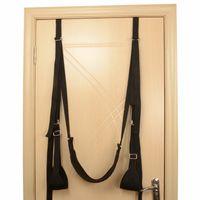 Wholesale Sex Door - Latest Padded Door Slam Sex Swing Bedroom Sexual Play Fetish Fantasy Bondage Furniture Gear Restraints Love Aid Sex Toys for Couples Black X