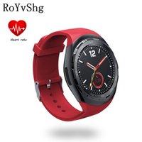reloj smart оптовых-Y2 smartwatch with heart rate monitor remote camera clock digital watch reloj inteligente pk Y1 smart electronics for