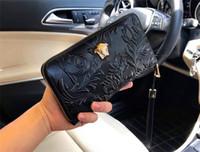 billetera de cuero grande al por mayor-Nuevo diseñador de moda monedero 9911 cuadrado hombres grandes con cremallera billetera de cuero de calidad superior portátil monedero con caja