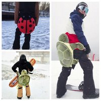 Wholesale Turtle Cushion - Tailbone Hip Protection Turtle Ladybug Cushion for Skiing Skating Snowboarding Buttocks Pads for Adults and Children OOA4473