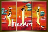 afrikanische handmalerei groihandel-Rabatt Ölgemälde gesetzt Wand Dekor zitiert Leinwand Ölgemälde afrikanische Kunst auf Leinwand handgefertigte abstrakte Kunst dekorative Malerei