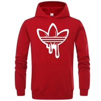 Wholesale Mens Branded Hoodie Light Fleece Sweatshirts Fashion Printed Hooded Pullovers Colors Street Style Mens Sportswear