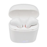 Wholesale gold brand new headphone - New TWS I7S Bluetooth Earbuds Earphone Double Wireless pods Headphones Ear Double Air pods for Iphone apple Andorid with Charging Case