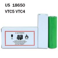Wholesale vtc5 battery for sale - Group buy 100 Original A Discharging V US18650 VTC5 VTC4 mAh Rechargeable Batteries For Sony Battery E Ciga